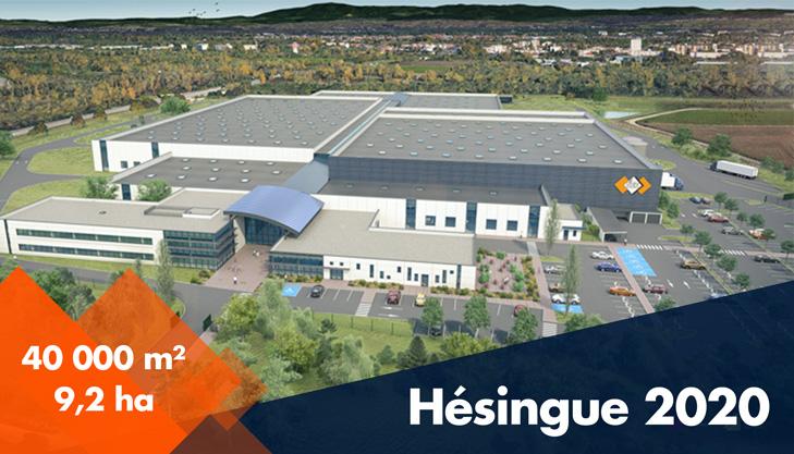 Projet Hésingue 2020 - Déménagement de SES-STERLING à Hésingue en 2020