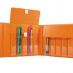 A box for the transport of marker carriers