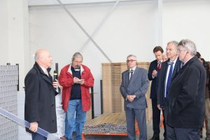 Visit of LAUWPLAST with Patrick EGEA