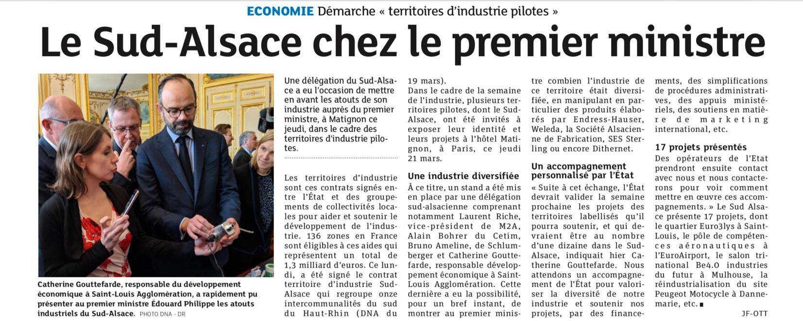 Dernieres nouvelles d'Alsace (DNA) - 22.03.2019