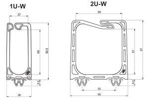 Système de fixation de câbles Clip-W  PLIOCATCH