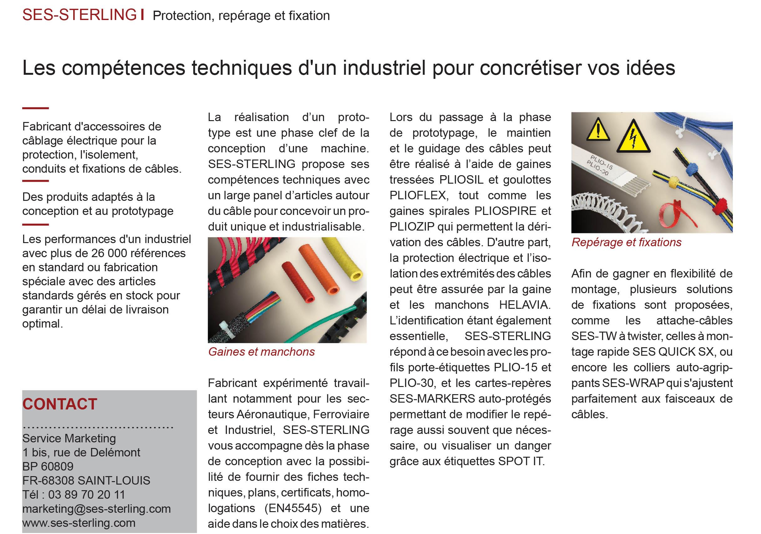 L'usine nouvelle Avril 2019 - Les compétences techniques d'un industriel