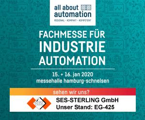 Fachmesse für Industrie Automation 13+14 Januar. 2020