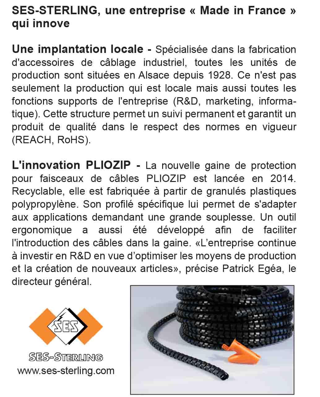 SES-STERLING : une entreprise made in France qui innove (Entreprendre - 2014)