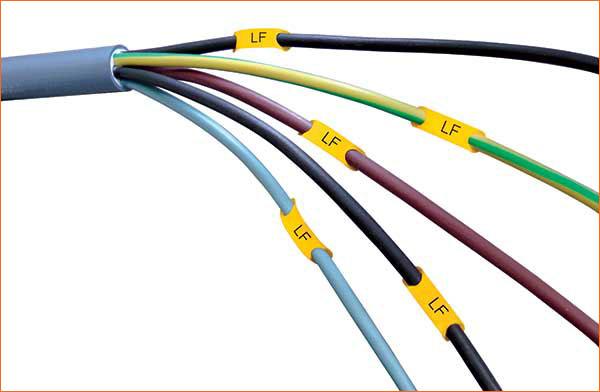 Languette de repérage de petit cable LF-0