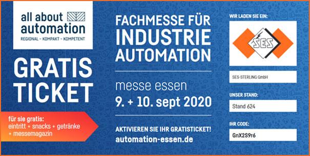 Free ticket for AAA Essen exibit