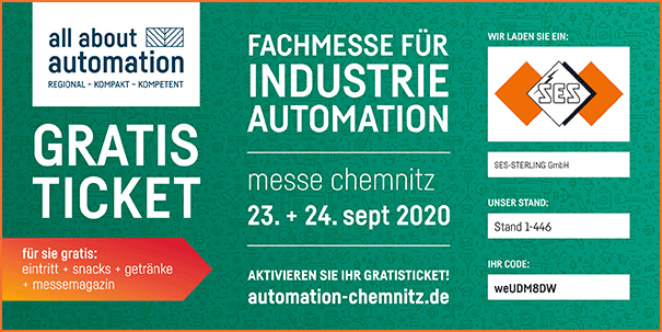 Gratis ticket All About Automation (AAA) Chemnitz