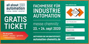 All About Automation Chemnitz 2020 (AAA)