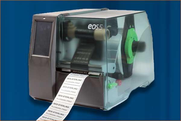 Imprimante de repérage PLIOMARK PRINT EOS 5 avec étiquettes TA mousse