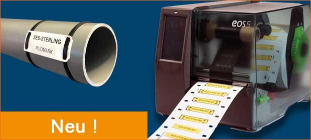 Aperçu nouvelle imprimante de repérage PLIOMARK PRINT EOS 5 en Allemand