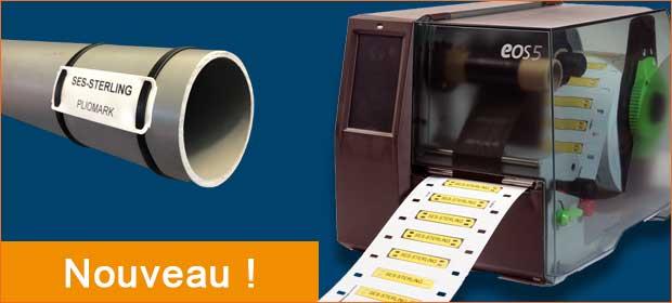 Aperçu nouvelle imprimante de repérage PLIOMARK PRINT EOS 5