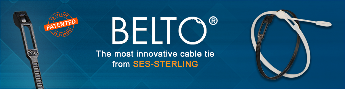 BELTO® the most innovative cable tie from SES-STERLING