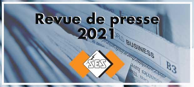 Revue de presse SES-STERLING 2021