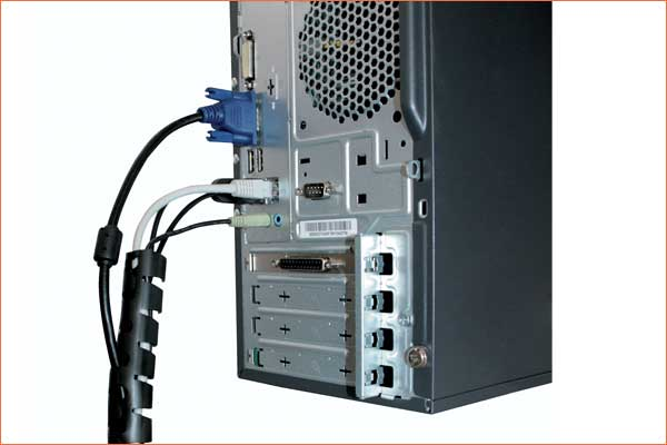 PLIOZIP protection tubing: IT and data centre applications
