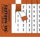 SES-MARKERS E38  01 BLANC