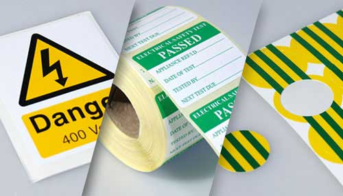 Photo Warning labels