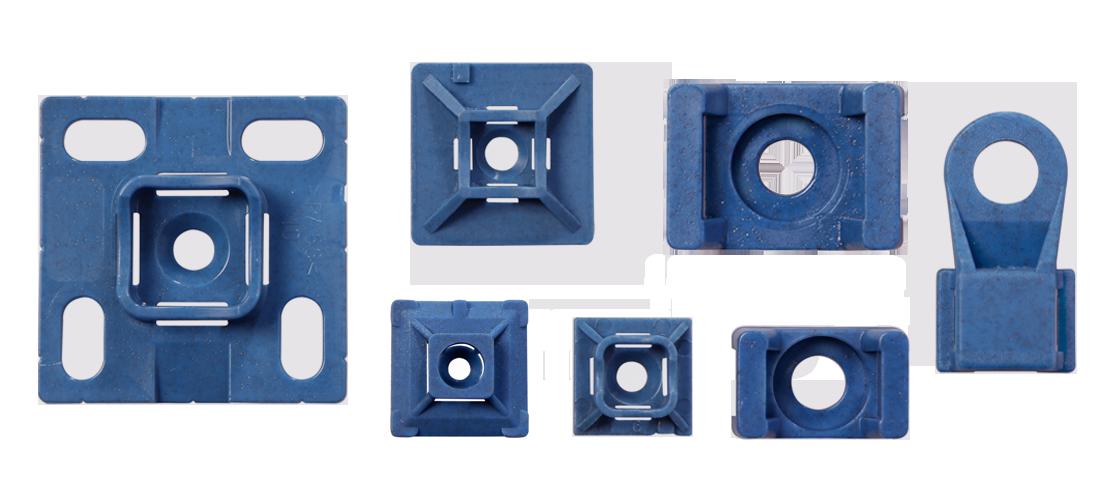 Socle et embase MDE détectables au détecteurs à métaux par SES-STERLING