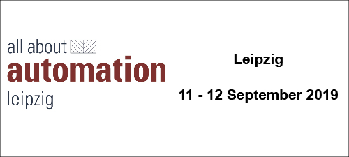 All About Automation - Leipzig (DE) - from 11 to 12 Sept. 2019