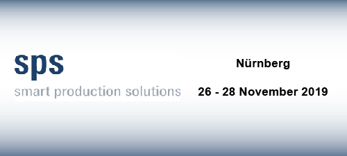 SPS IPC Drives - Nuremberg (DE) - from 26 to 28 Nov. 2019