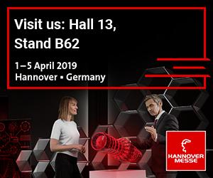Hannover Messe - Hannover (DE) - du 01 au 05 avril 2019 - Hall 13 Stand B62