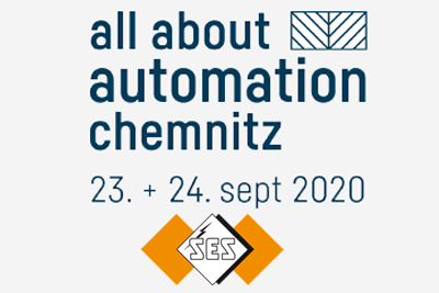 Meet us on 23 and 23 September 2020 at the All About Automation exhibition in Chemnitz