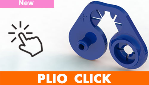 PLIO CLICK modular label holder